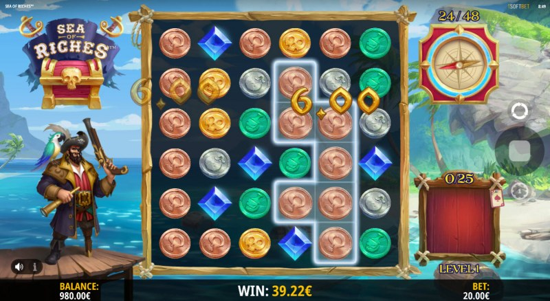 Sea of Riches :: Feature leads to multiple winning clusters