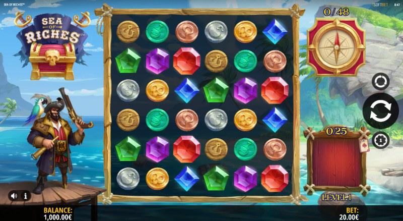 Sea of Riches :: Main Game Board