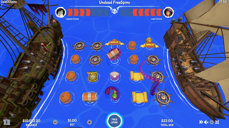 Sea of Spins :: Undead Free Spins
