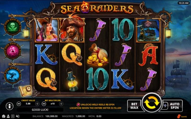 Sea Raiders :: Main Game Board