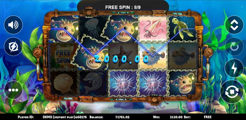 Sea World :: Free Spins Game Board