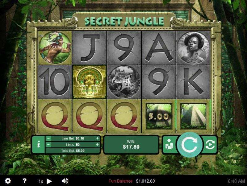 Secret Jungle :: Three of a kind