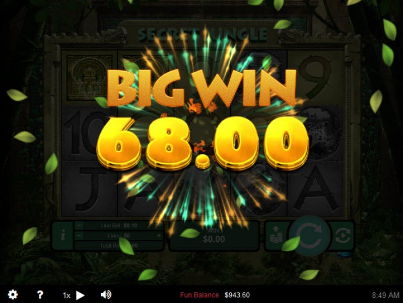 Secret Jungle :: Big Win