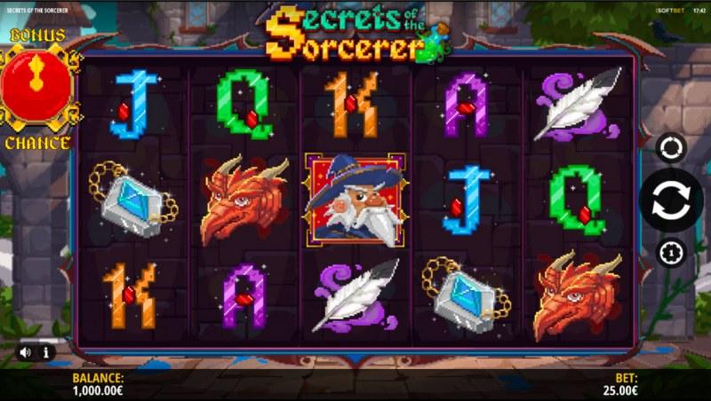 Secrets of the Sorcerer :: Base Game Screen