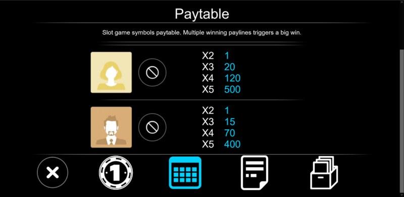 Selfie :: Paytable - Medium Value Symbols