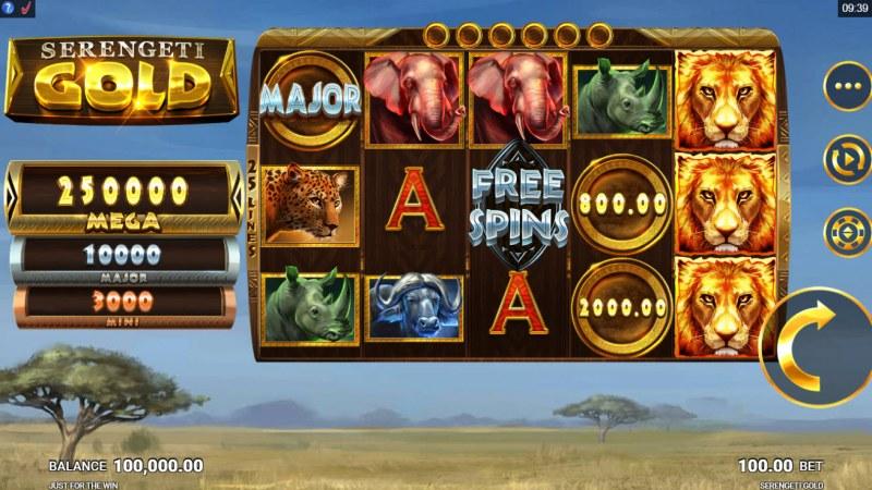 Serengeti Gold :: Main Game Board