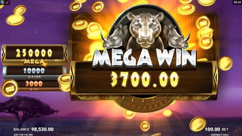 Serengeti Gold :: Mega Win