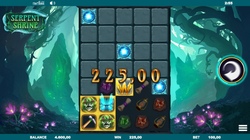 Serpent Shrine :: Multiple winning combinations