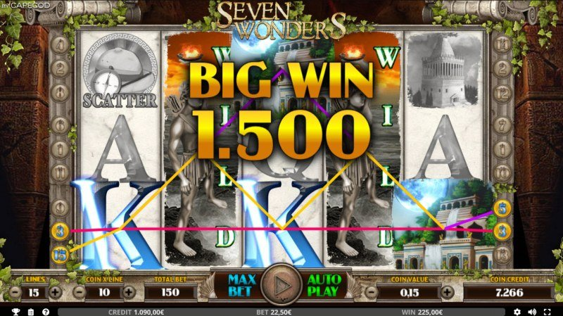 Seven Wonders of the Ancient World :: Big Win