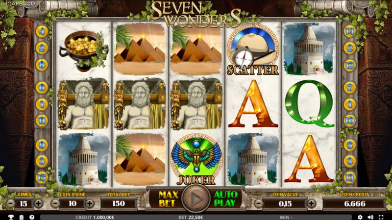 Seven Wonders of the Ancient World :: Main Game Board