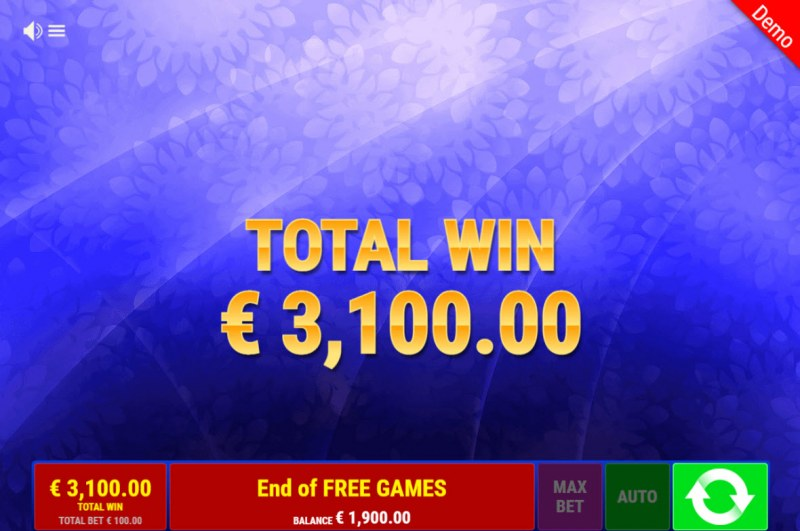 Sevens & Books :: Total Free Spins Payout