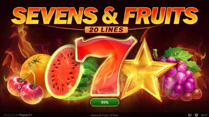 Sevens & Fruits 20 Lines :: Introduction