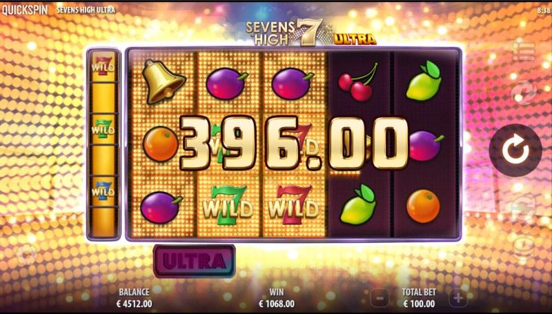Sevens High Ultra :: Multiple winning combinations