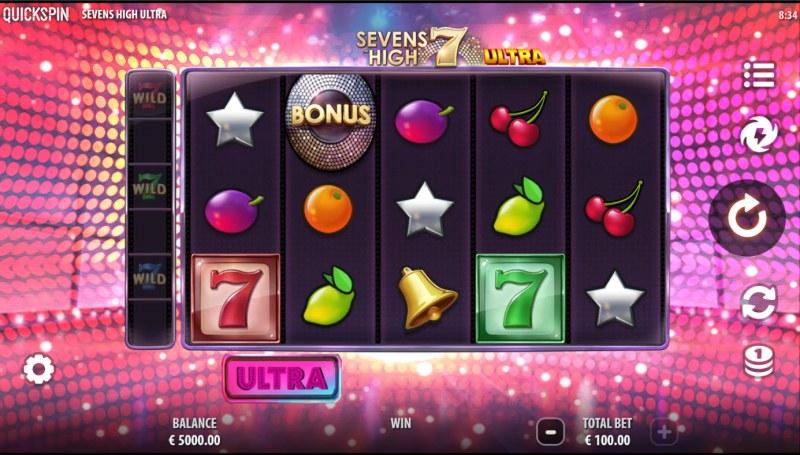 Sevens High Ultra :: Base Game Screen