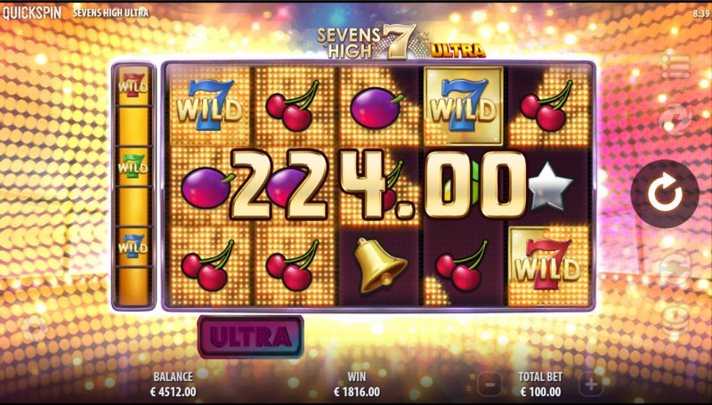 Sevens High Ultra :: Big Win
