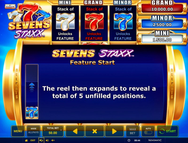 Sevens Staxx :: Feature Rules