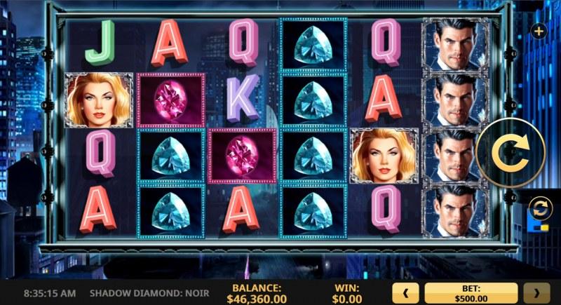 Shadow Diamond Noir :: Main Game Board