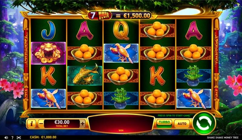 Shake Shake Money Tree :: Main Game Board