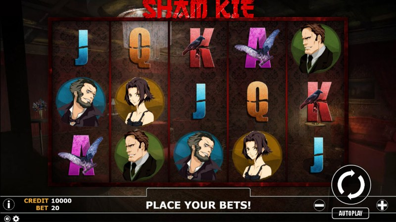 Sham Kie :: Main Game Board