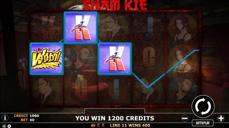 Sham Kie :: Multiple winning paylines