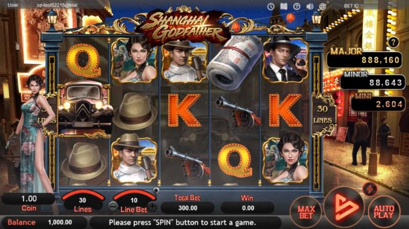 Shanghai Godfather :: Main Game Board
