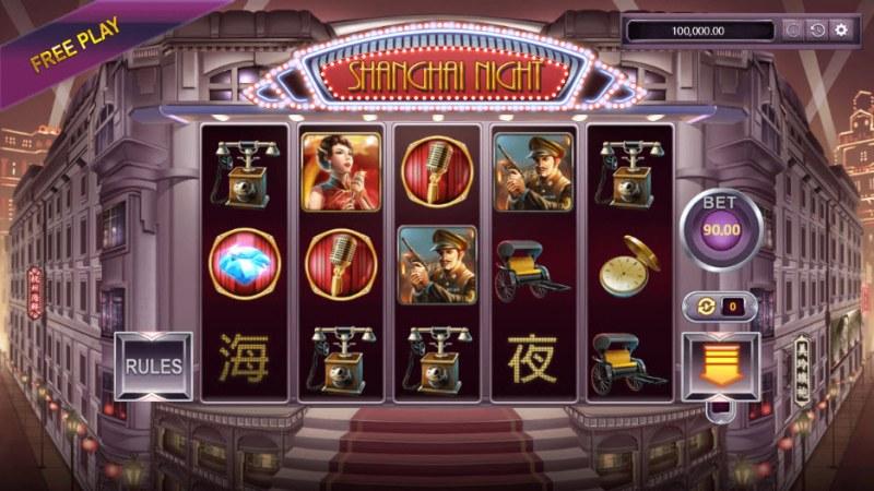 Shanghai Night :: Main Game Board