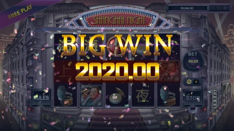 Shanghai Night :: Big Win