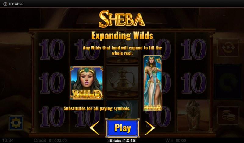 Sheba :: Expanding Wilds