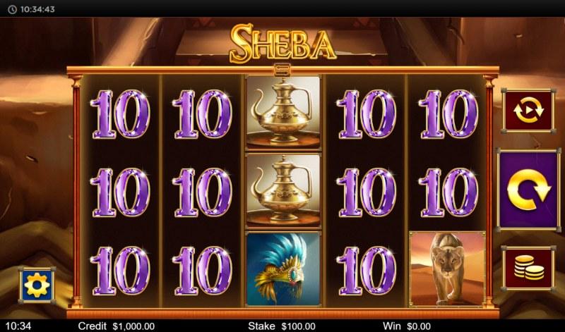 Sheba :: Main Game Board