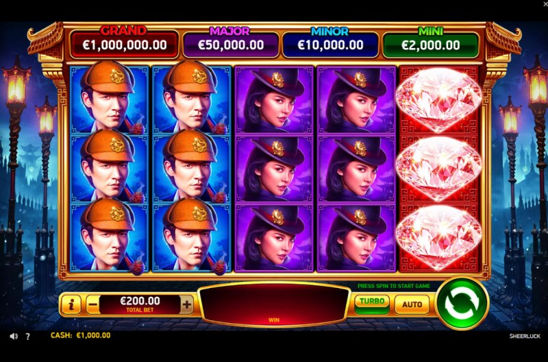 Play slots at AllRight: AllRight featuring the Video Slots Sheerluck with a maximum payout of $1,000,000