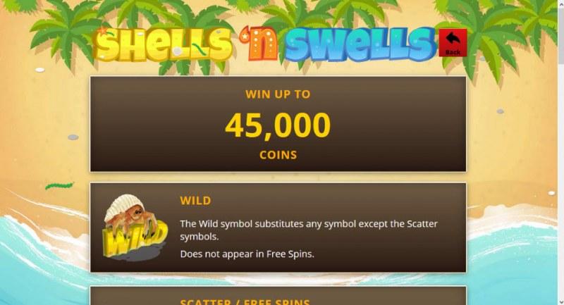 Shells 'n Swells :: Wild Symbols Rules