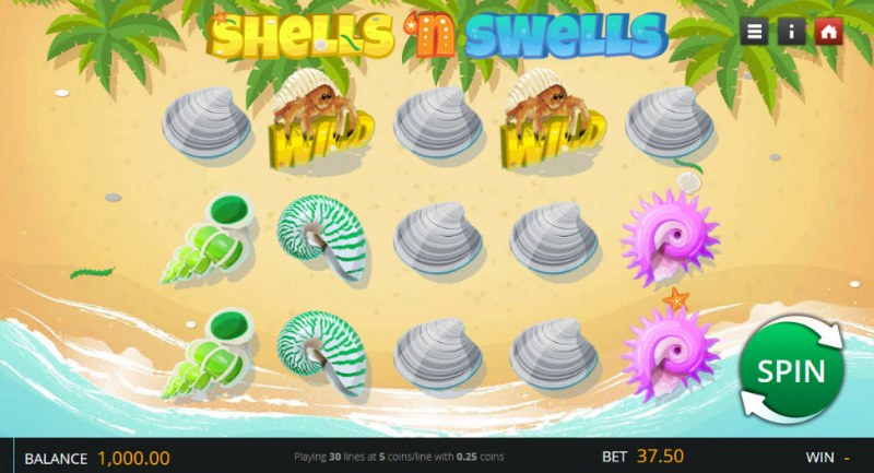 Shells 'n Swells :: Main Game Board