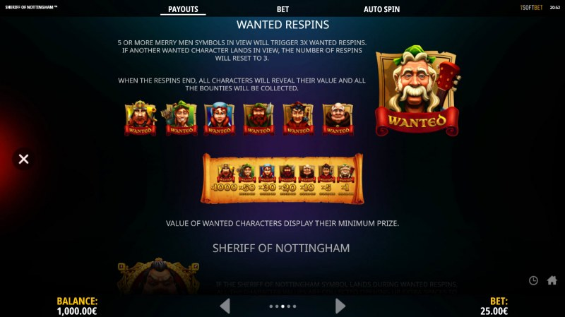 Sheriff of Nottingham :: Wanted Respins