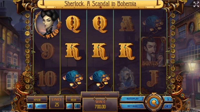 Sherlock A Scandal in Bohemia :: A four of a kind win