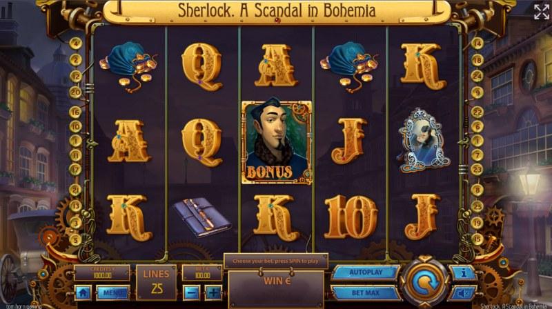 Sherlock A Scandal in Bohemia :: Base Game Screen