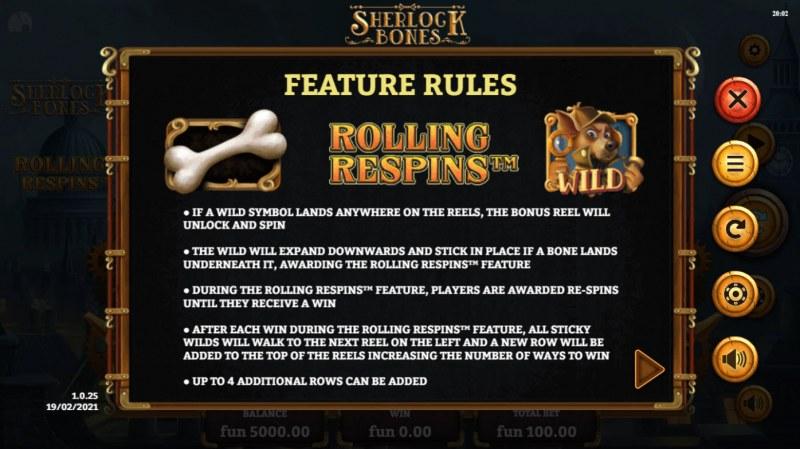 Sherlock Bones :: Rolling Respins