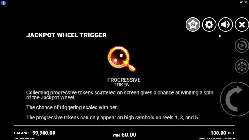 Sherlock & Moriarty Wow Pot :: Jackpot Wheel Trigger