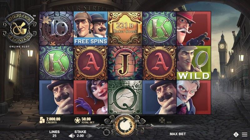 Sherlock of London :: Main Game Board