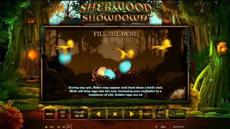 Sherwood Showdown :: Fill The Nest Feature