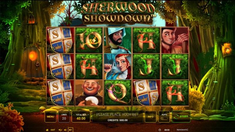 Sherwood Showdown :: Main Game Board