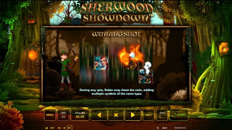 Sherwood Showdown :: Winning Shot Feature