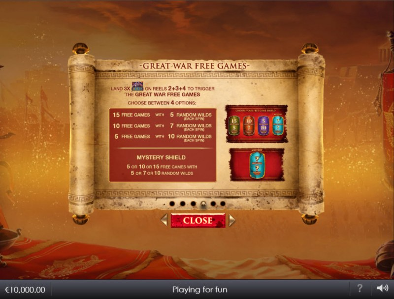 Shields of Rome :: Free Game Rules
