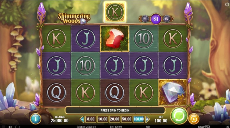Shimmering Woods :: Main Game Board