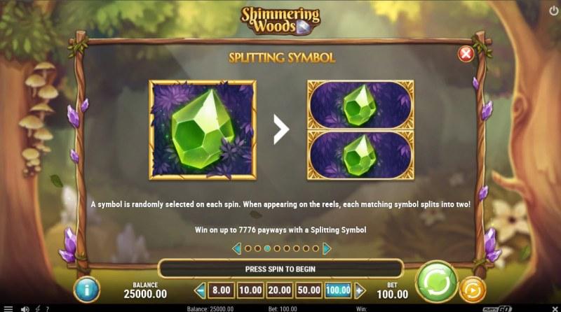 Shimmering Woods :: Splitting Symbols