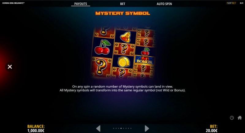 Shining King Megaways :: Mystery Symbol