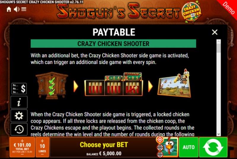 Shogun's Secret Crazy Chicken Shooter :: Crazy Chicken Shooter Rules