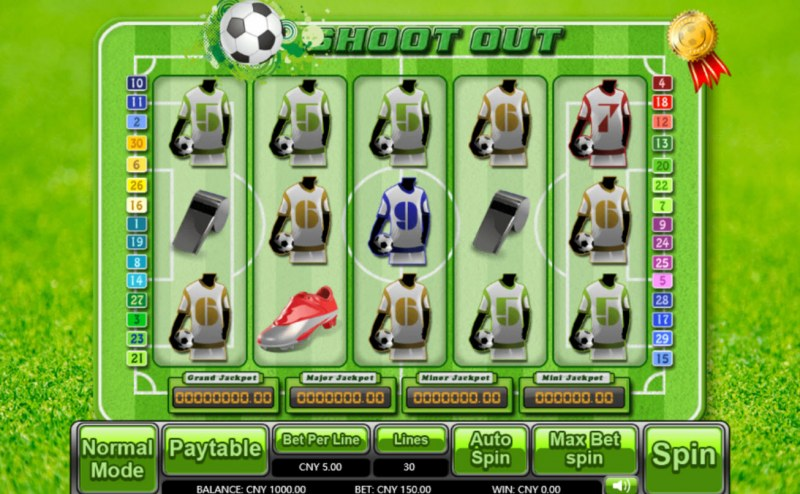 Shoot Out :: Main Game Board