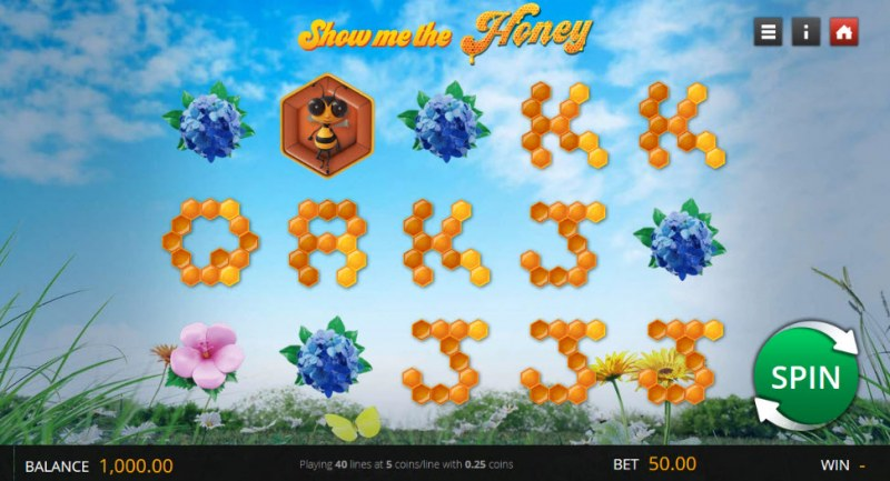 Show Me the Honey :: Main Game Board