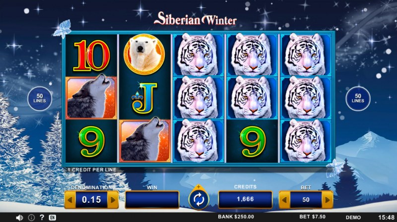 Siberian Winter :: Base Game Screen