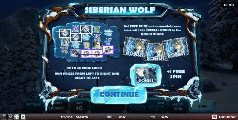 Siberian Wolf :: Introduction